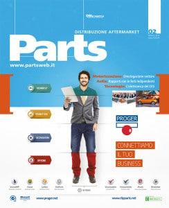 Proger in copertina su Parts di Febbraio 2016